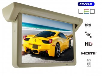 NVOX 1906MS BE AV HDMI